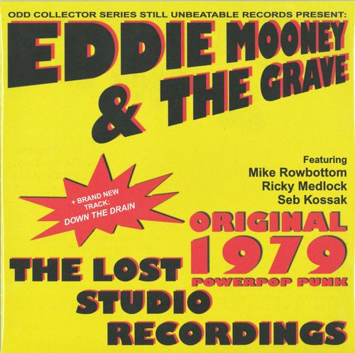 "EDDIE MOONEY & THE GRAVE - Down The Drain EP 7"" + P/S (NEW) (P)"