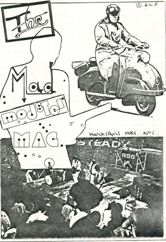 MODSTER MAG - Issue 1 (March / April 1983) FANZINE (EX)