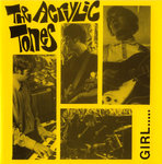 "ACRYLIC TONES, THE - Girl EP 7"" + P/S (EX/EX) (M)"