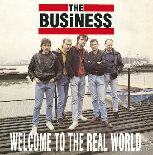 BUSINESS, THE - Welcome To The Real World LP (EX-/VG+) (P)