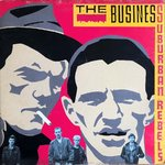 BUSINESS, THE - Suburban Rebels LP (EX-/VG) (P)