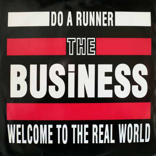 "BUSINESS, THE - Do A Runner EP 12"" + P/S (EX/EX) (P)"
