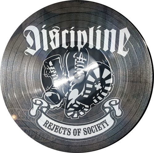 DISCIPLINE - Rejects Of Society PICTURE DISC LP (EX) (P)