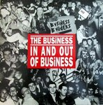 BUSINESS, THE -  In And Out Of Business (RED VINYL) LP (EX/VG+) (P)