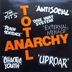 V/A - Total Anarchy LP (VG+/VG+) (P)