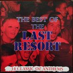 LAST RESORT, THE - The Best Of The Last Resort (14 Classic Oi! Anthems) (BLUE VINYL) LP (EX/EX) (P)