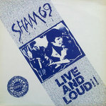 SHAM 69 - Live And Loud LP (EX/EX) (P)