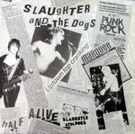 "SLAUGHTER AND THE DOGS - Twist And Turn EP - 12"" + P/S (EX/VG) (P)"