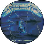 METALLICA - Ride The Lightning (PICTURE DISC) LP (-/EX) (P)