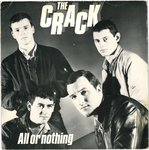 "CRACK, THE - All Or Nothing 7"" + P/S (VG+/VG) (P)"