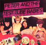 "PETER & THE TEST TUBE BABIES - Rotting in The Fart Sack EP - 12"" + P/S (EX/EX) (P)"