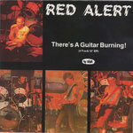 RED ALERT - There's A Guitar Burning! - Mini LP (VG+/VG+) (P)