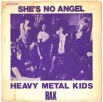 "HEAVY METAL KIDS - She's No Angel 7"" (+ FRENCH P/S) (VG/EX) (P)"