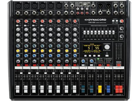Dynacord CMS 600-3 Mixing Desk Made in Germany