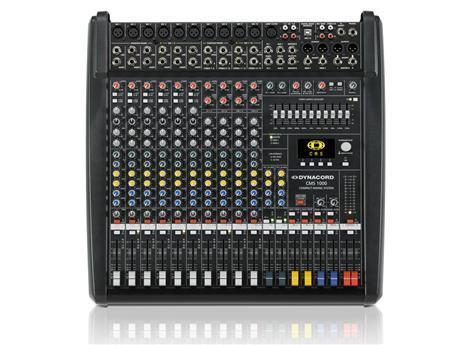 Dynacord CMS 1000-3 Mixing Desk Made in Germany