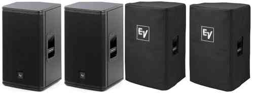 Electro-Voice 2x ELX115P  (Pair) With Covers