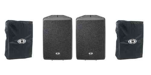 Dynacord D12 Speakers With Covers