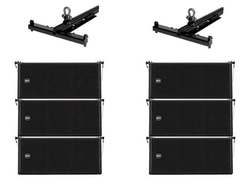 RCF HDL 6-A 3 a side Line Array Elements