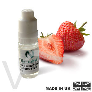 Strawberry - 10ml - E-Liquid - Nicohit