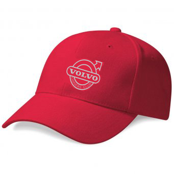 RED VOC EMBROIDERED BASEBALL CAP