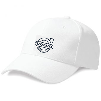 WHITE VOC EMBROIDERED BASEBALL CAP