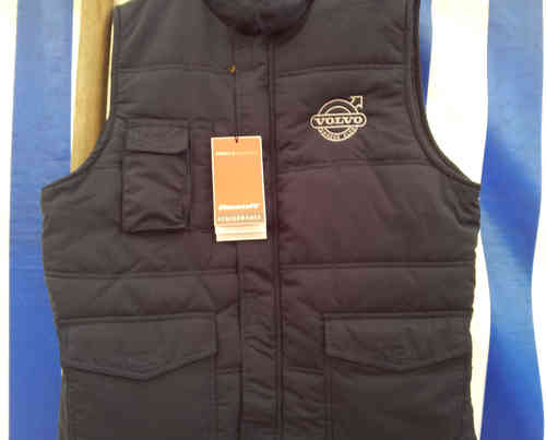 NAVY VOC EMBROIDERED  BODYWARMER