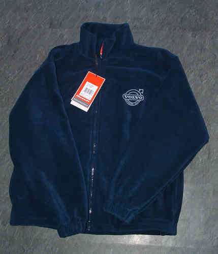 NAVY VOC EMBROIDERED FLEECE