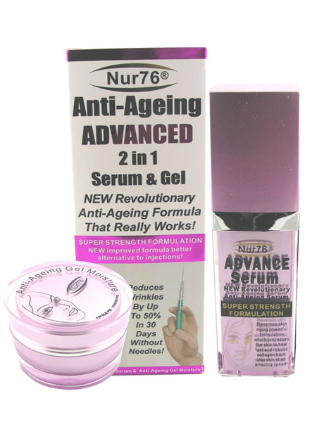 Nur76 Anti-Ageing Advanced 2 in 1 Serum and Gel