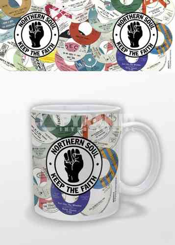 Northern Soul Coloured Mug