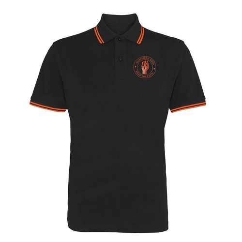 Polo Shirt with Northern Soul logo