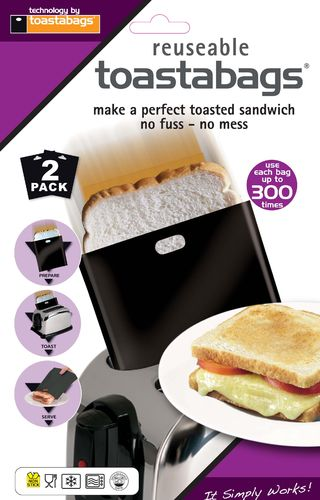 toastabags original black 300 use twin pack