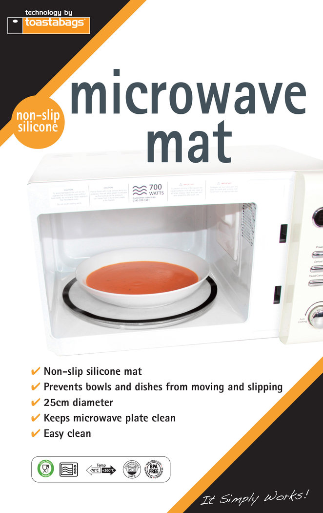 Anti-slip Microwave Mat, silicone