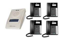 4 XL220 Business Telephones