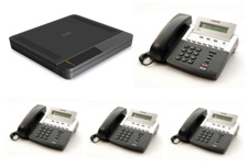 Samsung 7030 Telephone System Package -4x digital Phones, 4 analogue lines, 4 digital exts