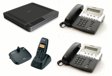 Samsung 7030 Telephone System, 2x Samsung Telephone,1x Dect Phone