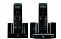 BT Stratus 1500 Telephone Dect Twin- with Answer Machine