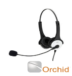 Orchid Binaural Headset Compatible with Orchid Telephone Systems