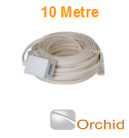 Orchid DIY 10m Extension Cable to be used with Orchid Telephone Systems and Compatible Phones