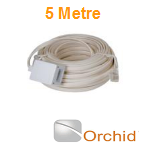Orchid DIY 5m Extension Cable to be used with Orchid Telephone Systems and Compatible Phones