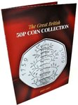 NEW 2018 Edition 50p Coin Collection Coin Hunt Collectors Album