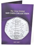 NEW 2019 Edition 50p Coin Collection Coin Hunt Collectors Album
