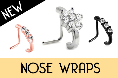 nose wraps for nose piercing nose jewellery