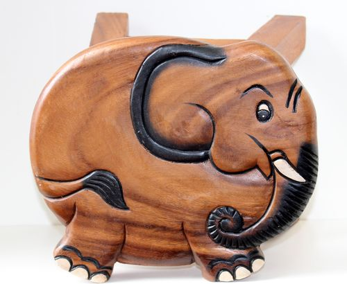Shaped Elephant Stool