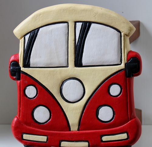Red Bus Stool