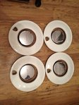 4x Nissan Figaro & Chrome Center (Used)
