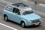 Nissan Pao Grey Roof Canvas