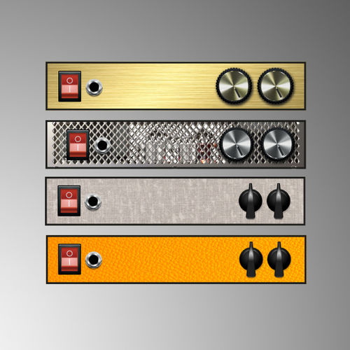 Graphic Text Labels 3: Amps