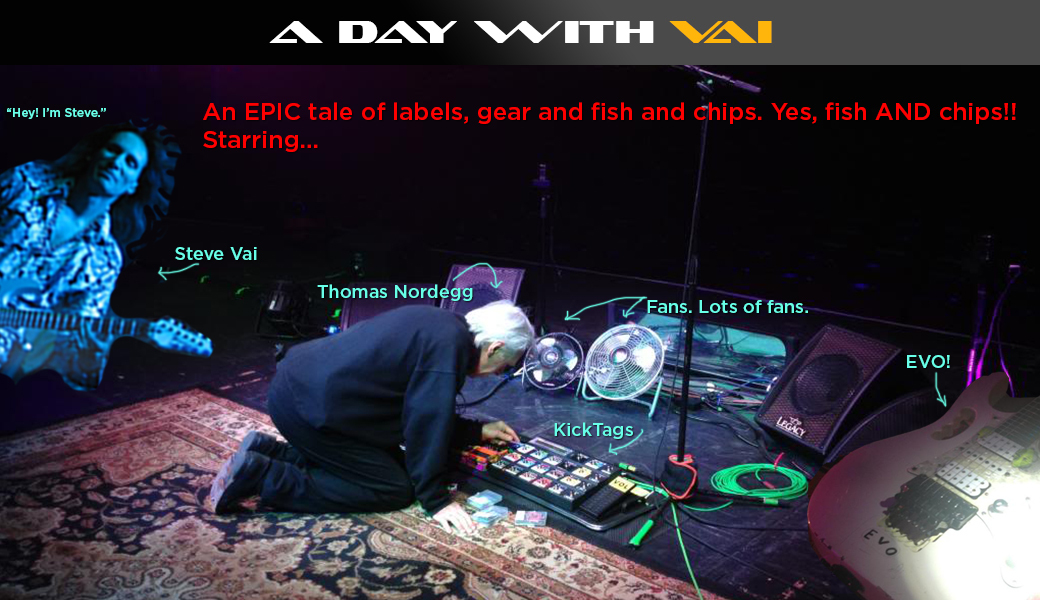 I spent a day with Vai... no, really, I did!!