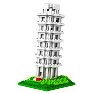 Loz Block Leaning Tower of Pisa