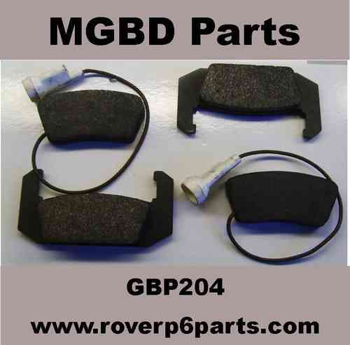 REAR BRAKE PADS FOR 2000, 2200, 3500 WITH GIRLING CALIPERS